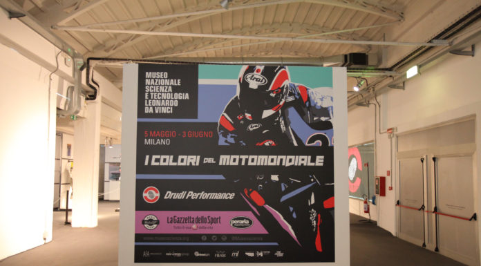 """Mostra """"I colori del Motomondiale"""" cartellone"""