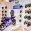 """Mostra """"I colori del Motomondiale"""" tuta moto e caschi Valentino Rossi VR46"""