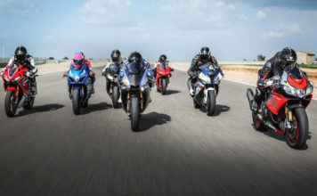 7 moto supersportive 1000 in pista per una comparativa