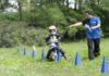 JuniorMotoSchool slalom tra i birilli