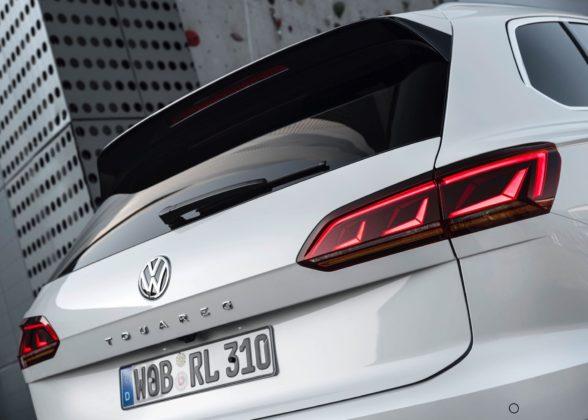 Volkswagen Touareg 2018 dettaglio 3/4 bagagliaio
