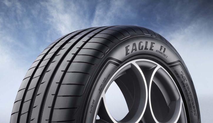 Goodyear Eagle F1 Asymmetric 3 SUV dettaglio nome modello gomma