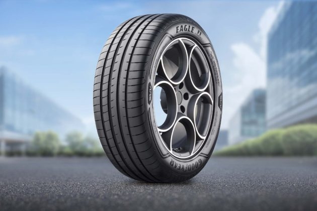 Goodyear Eagle F1 Asymmetric 3 SUV 3/4 laterale