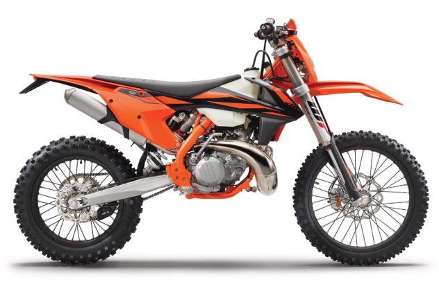 KTM EXC 2019 laterale destra statico