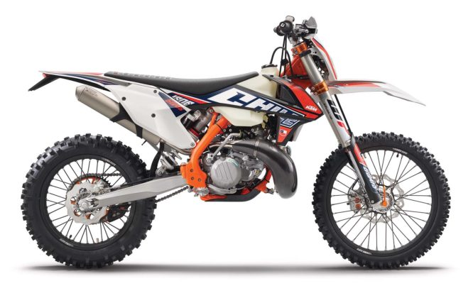 KTM EXC 2019 laterale statico