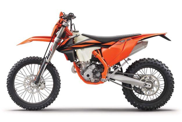 KTM EXC 2019 laterale sinistra statico