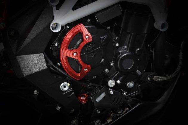 MV Agusta Brutale 800 RR LH44 dettaglio motore