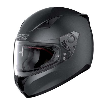 casco Nolan laterale nero