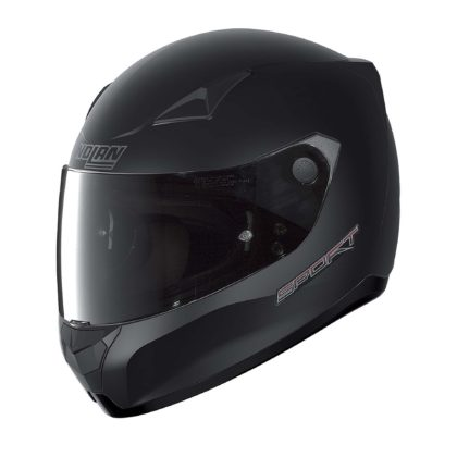 casco Nolan nero laterale