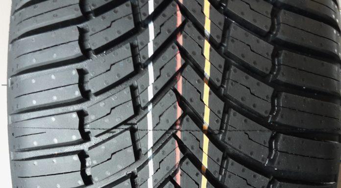 Bridgestone dettaglio gomma frontale statico