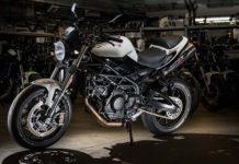 Moto Morini Corsaro 3/4 anteriore Statica in officna