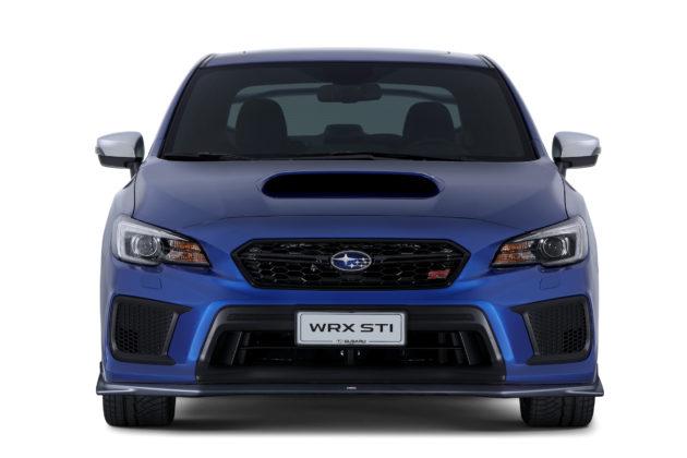 Subaru Impreza frontale statica blu