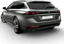 peugeot 508 sw 3/4 laterale posteriore sinistra statica