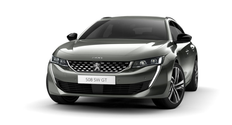 peugeot 508 sw frontale statica