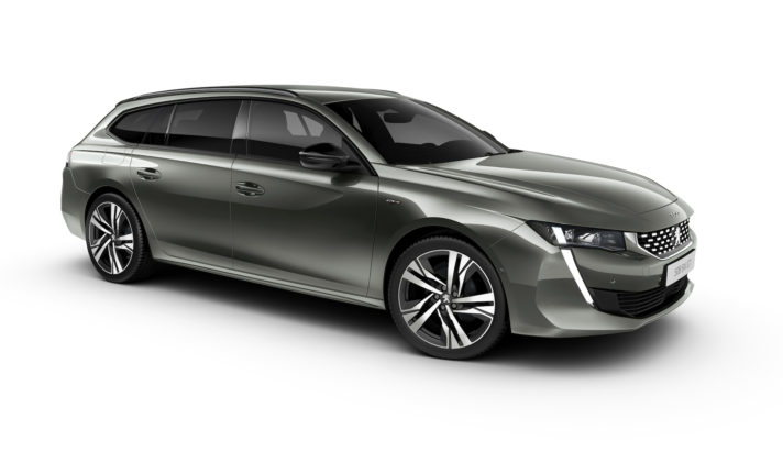 peugeot 508 sw laterale statica