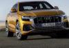 Audi Q8 frontale statica dragon orange