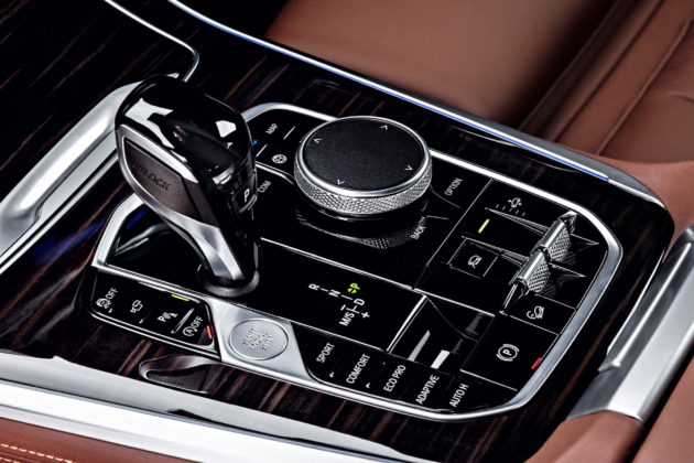 Nuova BMW X5 dettaglio cambio