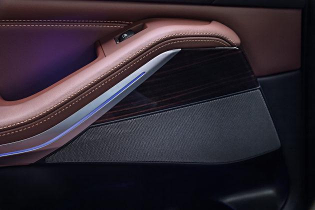 Nuova BMW X5 dettaglio interno portiera