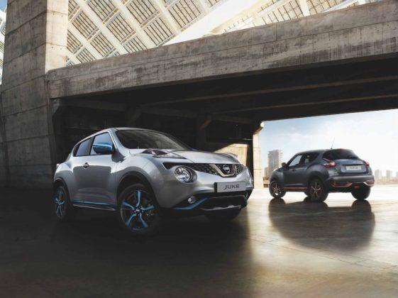 Nissan Juke 2018 3/4 anteriore e 3/4 posteriore