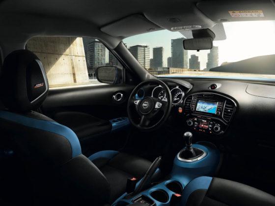 Nissan Juke 2018 plancia interni illuminazione abitacolo
