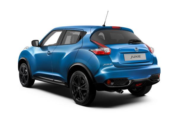 Nissan Juke 2018 3/4 posteriore