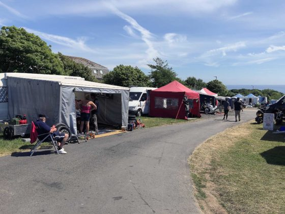 Tourist Trophy 2018 accampamenti
