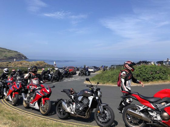 Tourist Trophy 2018 parcheggio moto