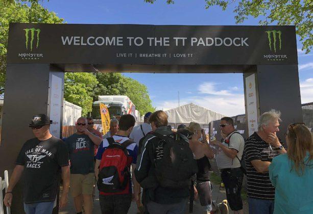 Tourist Trophy 2018 ingresso paddock
