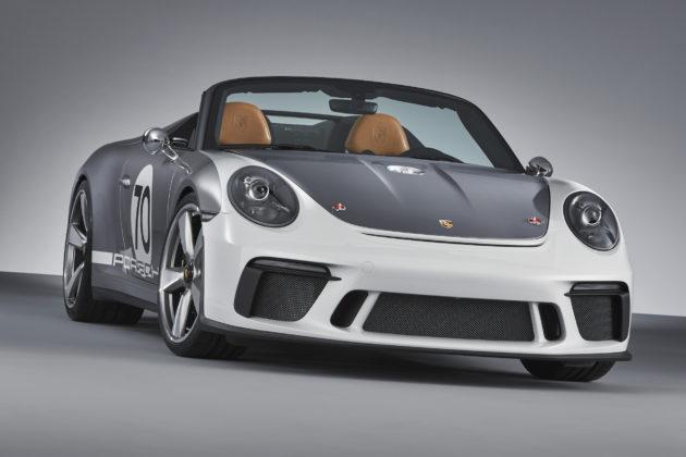 Porsche 911 Speedster Concept 3/4 anteriore