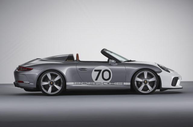 Porsche 911 Speedster Concept fiancata piena