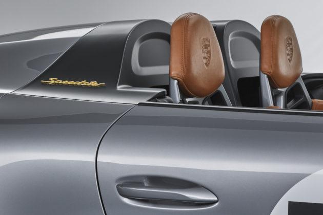 Porsche 911 Speedster Concept poggiatesta