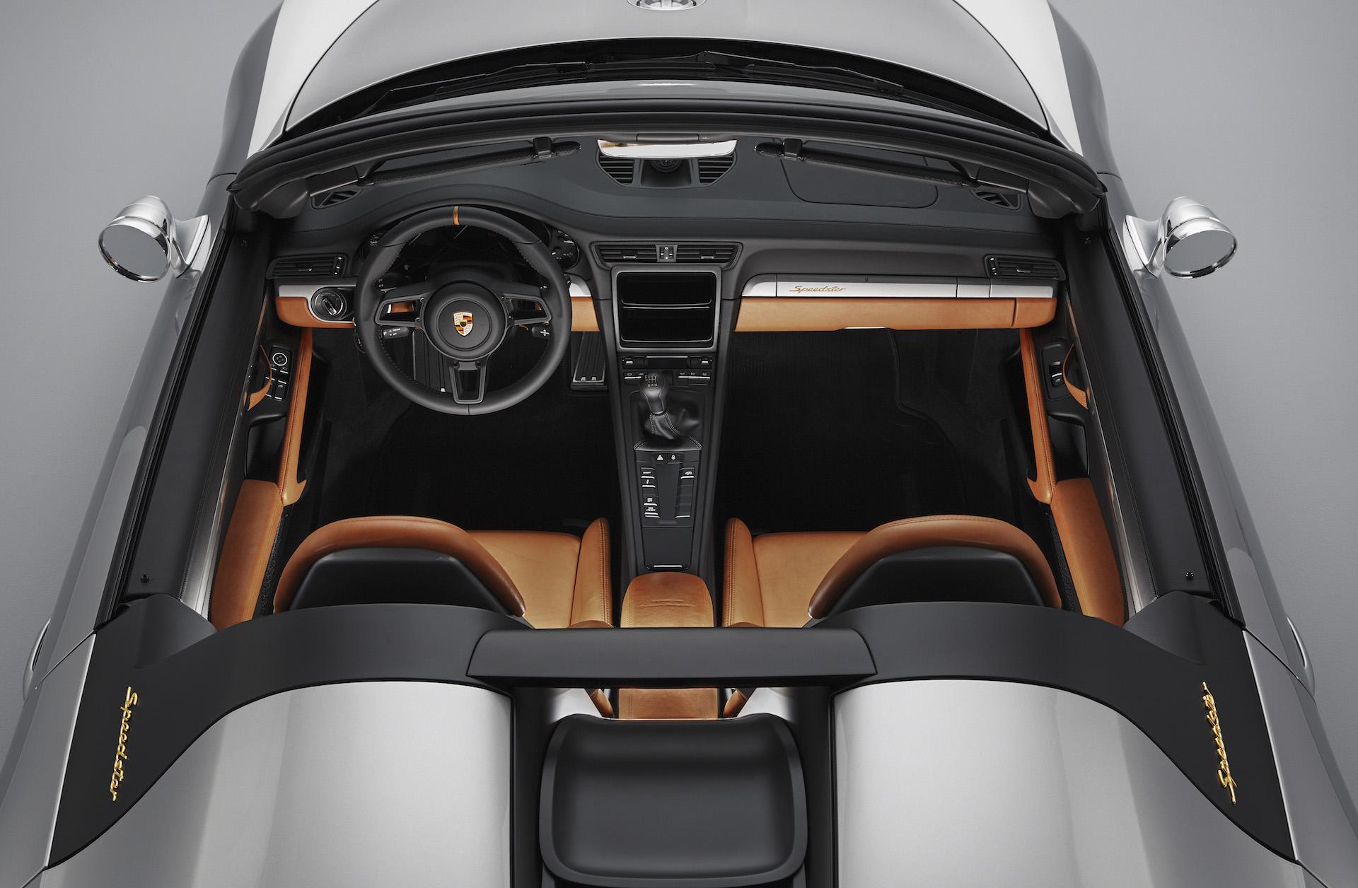 Porsche 911 SPeedster Concept plancia e abitacolo