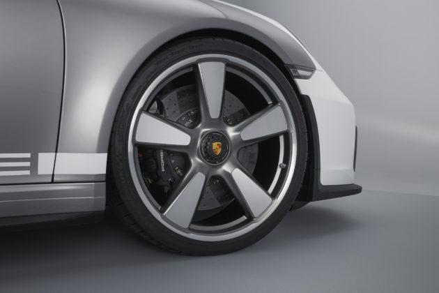Porsche 911 Speedster Concept dettaglio cerchio monodado