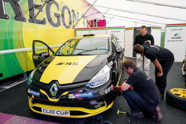 Renault Clio Cup 2018 ai box