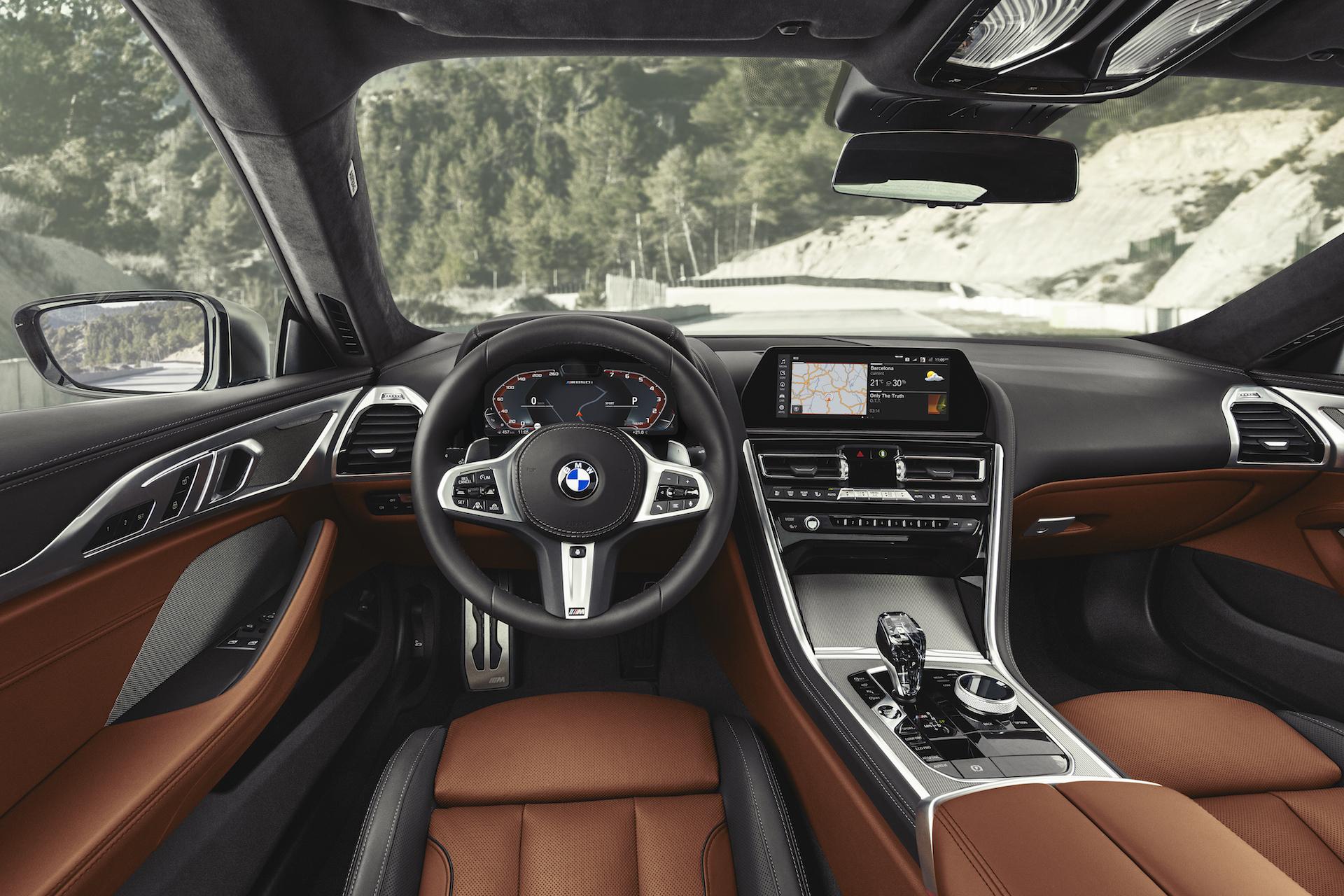 BMW Serie 8 Coupé plancia