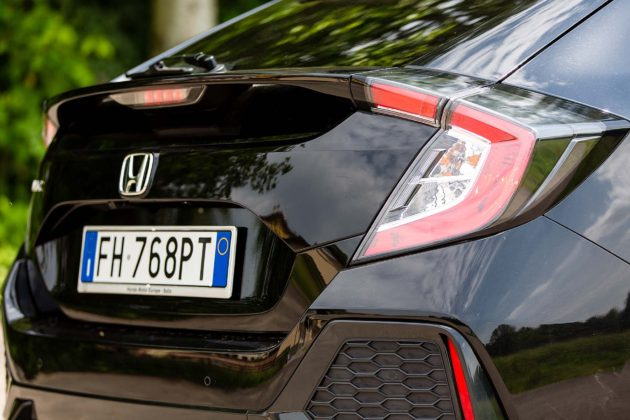 Honda Civic 1.5 Turbo VTEC Prestige CVT - faro posteriore