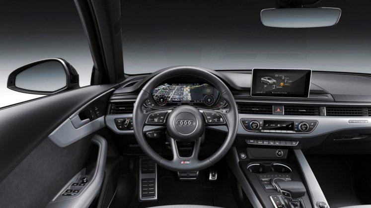 Audi A4 2019 interni plancia
