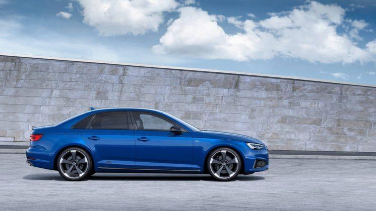 Audi A4 2019 laterale
