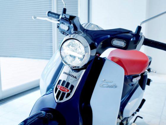 Honda Super Cub C125, particolare frontale