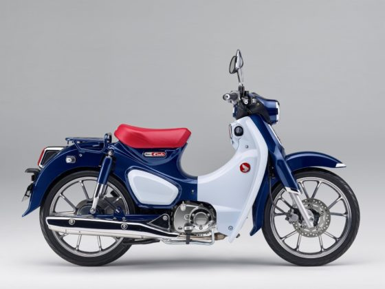 Honda Super Cub C125, still life vista laterale