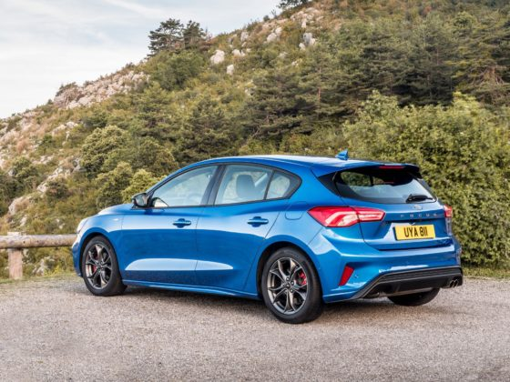 Ford Focus 2019 in versione ST-Line