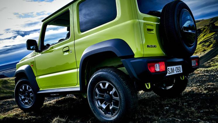 Nuovo Suzuki Jimny fiancata