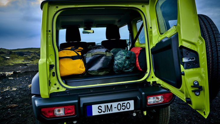 Nuovo Suzuki Jimny bagagliaio