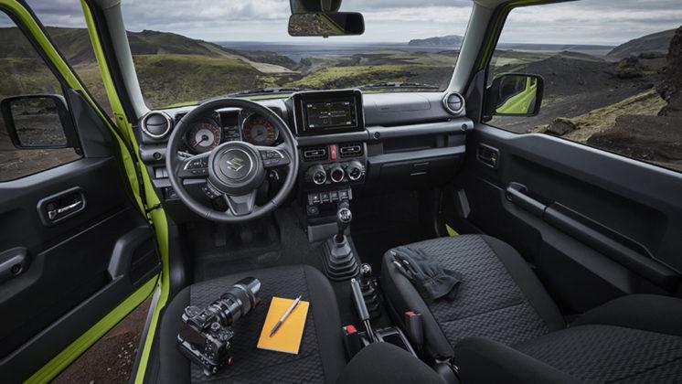 Nuovo Suzuki Jimny interni