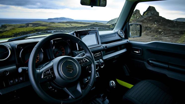 Nuovo Suzuki Jimny plancia
