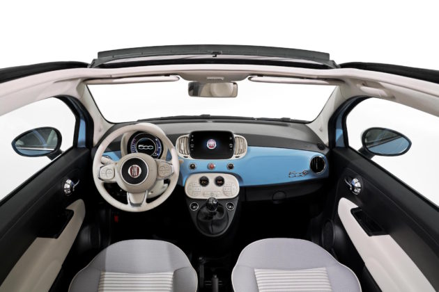 Fiat 500 Spiaggina '58 interni