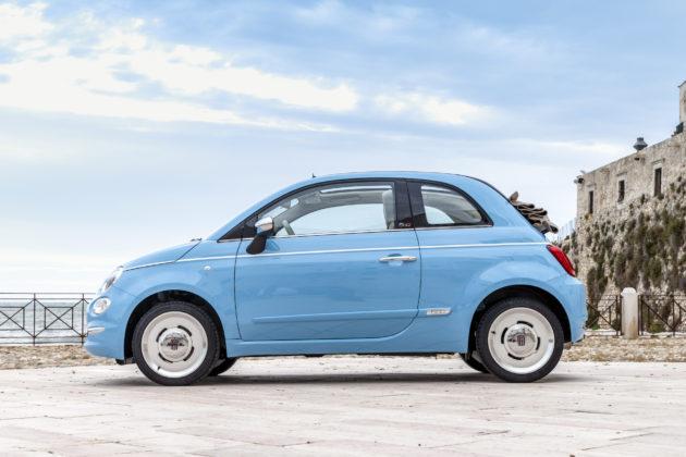 Fiat 500 Spiaggina '58 laterale
