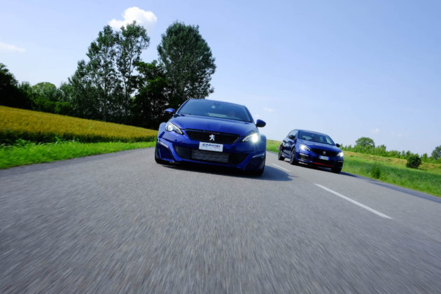 Peugeot 308 by Arduini Corse frontale