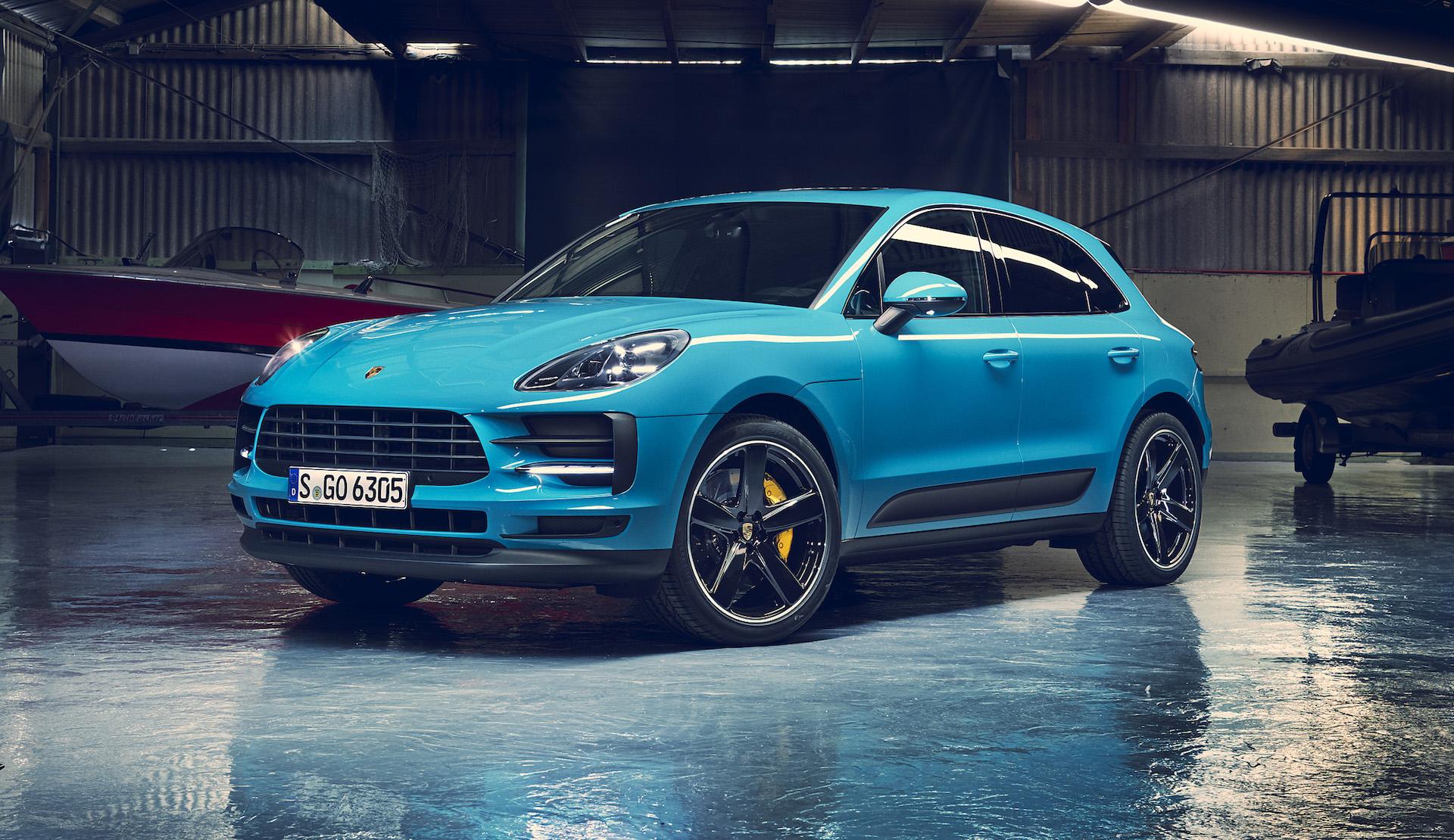 Porsche Macan 2019 Restyling Tecnologico A Shangai Red Live
