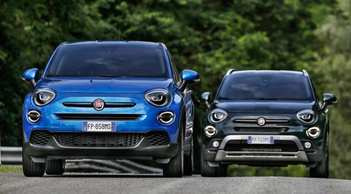 Fiat 500X restyling, frontali